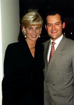 Princess Diana and butler, Paul Burrell