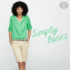 Foto: Simply Basics - Nella vita, le cose semplici sono sempre le migliori. Libera la tua creatività e il tuo stile! http://c-and-a.ca/1xDSETv