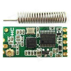 HC-11 CC1101 433MHz UART Serial Wireless Transceiver Module. Feature: - Operating frequency: 433MHz - Default silent current: 3.4mA, ultra-low power consumption. - Transmission distance: 1 to 40 meters. (Less than 1M, the module does not work). - Operating voltage: 3~5V - Supports transparent serial COM transferring(half duplex) - You can set the frequency, the transmission channel, automatic filtering - Maximum transmit power: 10DBM - Receiver sensitivity: 110DBM - Small size.. Tags…