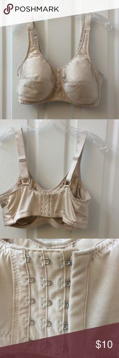 Mastectomy bra 42 DD beige mastectomy bra - pockets for the prosthesis. Barely worn ABC Intimates & Sleepwear Bras