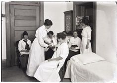 Class in Home Nursing, C.S.A. Catalog. 1915-1916. UHPC, University Archive, Archives and Special Collections, CSU, Fort Collins, CO
