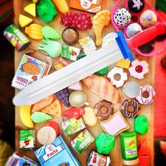 Jamie Oliver: Kids been shopping for food again !! Even I don't know what to make with this.