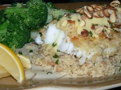 Alaskan Cod with Hollandaise and Toasted Almonds | Yelp