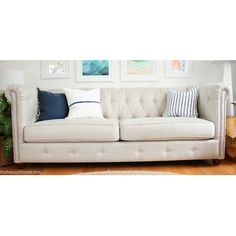 Wayfair Custom Upholstery™ Josephine Tufted Chesterfield Sofa & Reviews | Wayfair