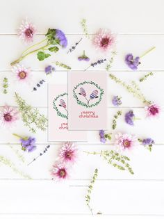 FREE WATERCOLOR CHRISTMAS CARDS