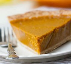 Vegan Pumpkin Pie...This recipe is pretty much as healthy as pumpkin pie can get too! It uses 100% maple syrup to sweete...