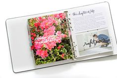 Ali Edwards Design Inc. Ali Edwards, Life Inspiration, Happy Planner, Project Life, Journaling, Scrapbooking, Bible, Memories, Album