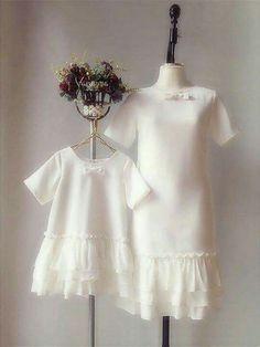 New baby fashion clothes mother daughters 29 Ideas Mommy And Me Dresses, Mommy And Me Outfits, Little Girl Dresses, Kids Outfits, Girls Dresses, Baby Outfits, Mother Daughter Fashion, Mom Daughter, Mother Daughters