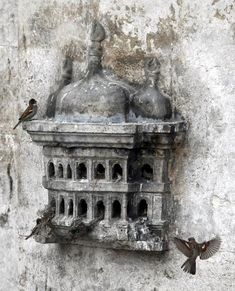 Ottoman bird house...