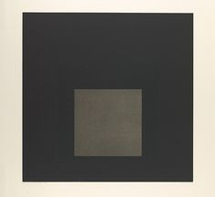 Midnight + Noon III   Josef Albers