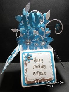 POP-UP BOX BIRTHDAY CARD by carolynshellard