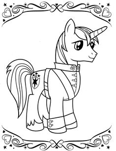 My Little Pony Coloring Pages Through The Thousand Images Online
