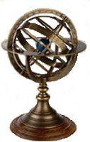 Les instruments anciens : astrolabe, sextant, octant, sphère armillaire, baromètre, sablier...
