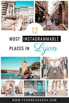 Find the hidden photo spots in Lyon! You can easily snap a month of Instagram content within a weekend - if you know where to go! This guide covers known spots as well as real insider tipps on where to get that perfect instagrammable shot! #instagrammable #lyon #instagrammableplaces #hidden #hiddenspots #lyonfrance #lyonfrancetravel #photospots #photospotslyon #instagrammableplacesinlyon #instagrammableplacesfrance #lyoncityguide #lyontravelguide #lyonthingstodo #instagram Beautiful Places To Visit, Cool Places To Visit, Places To Travel, Travel Destinations, Europe Travel Guide, France Travel, Paris Travel, France Photography, Travel Photography