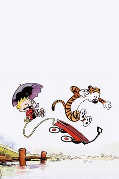 FreeiOS7 | calvin-and-hobbes-jump | freeios7.com