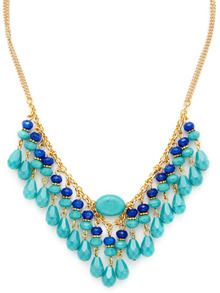 Multi Stone Bib Necklace by Rachel Reinhardt brought to you by Gilt