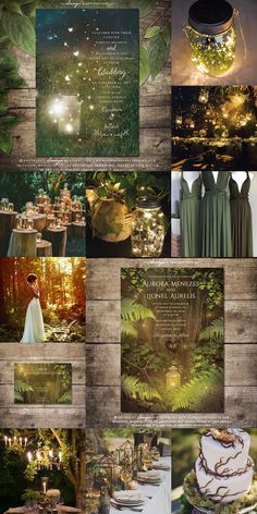 Enchanted Wedding Ideas, Enchanted Forest Quinceanera Theme, Enchanted Forest Theme Party, Woodland Theme Wedding, Woodland Wedding Inspiration, Cute Wedding Ideas, Secret Garden Weddings, Secret Garden Theme, Fantasy Wedding