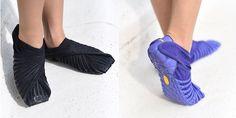 Furoshiki Shoes - may be good for AFOs / orthotics?