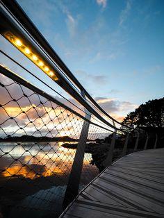 Haahammaren bridge in Stavanger, Norway Photo: Nanco Hoogstad