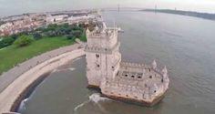 Lisboa vista por um drone