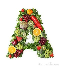 VITAMIN A – Important for our body Vitamin A is a food concept that refers to a particular family of structurally related substances. Under the vitamin A Fresh Fruits And Vegetables, Fruit And Veg, Veggies, Vegetable Delivery, Benefits Of Vitamin A, Nutrition, Dried Apricots, Stuffed Peppers, Lettering