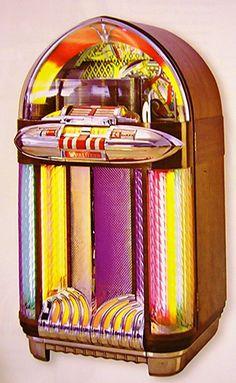 JukeBox Wurlitzer-1100