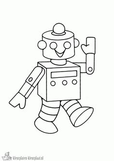 Coloring Pages Draw Robots Robot Drawing For Kids Page For Kids In Coloring Pages Draw Robots . Colouring Pics, Free Coloring, Coloring Pages For Kids, Kids Coloring, Nono Le Petit Robot, Drawing For Kids, Art For Kids, Robot Clipart, Robot Images