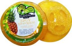 Bubble Shack Hawaii Juicy Pineapple Loofah Lather Glycerin Soap Gift Set - Lilly's Bathcarry