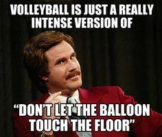 Volleyball realization…