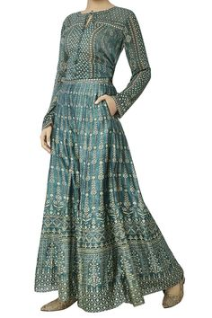 Shop Anita Dongre Sage green sharara pants , Exclusive Indian Designer Latest Collections Available at Aza Fashions Dress Indian Style, Indian Dresses, India Fashion, Boho Fashion, Fashion Design, Simple Dresses, Beautiful Dresses, Boho Outfits, Fashion Outfits
