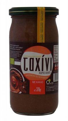 Tahini me Kakao - Tahini, Salsa, Jar, Bottle, Food, Flask, Eten, Jars, Meals