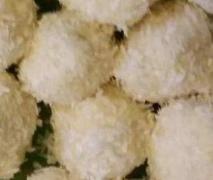 Kokos-Pralinen ohne Schmelzen