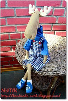 Мои рукоделки _ My handmade: тильда Лось