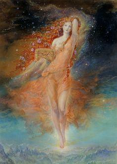 Art And Illustration, Art Hippie, Bel Art, Renaissance Kunst, Goddess Art, Fairytale Art, Fairy Art, Pretty Art, Aesthetic Art