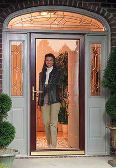 Exterior Solid Wood Door Eu100 Entrance Unit With