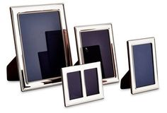 Collectible Sterling Frames, Asst. of 4