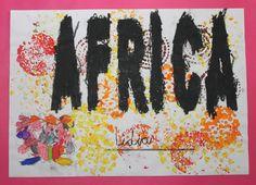 Proyecto de Trabajo realizado en el aula de 5 años, sobre el continente africano.