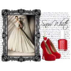 Snow White wedding outfit