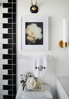 Budget Remodeling Ideas: Black + White Tile Patterns | Apartment Therapy