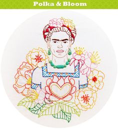Hey, I found this really awesome Etsy listing at https://www.etsy.com/listing/193022347/las-flores-de-frida-fridas-flowers