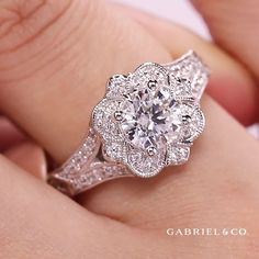 Design Your Engagement Ring, Floral Engagement Ring, Platinum Engagement Rings, Engagement Ring Styles, Designer Engagement Rings, Bridal Rings, Bridal Jewelry, Buy Loose Diamonds, Diamond Bands