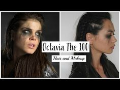 The 100 Inspired Octavia Hair and Makeup 2 - YouTube