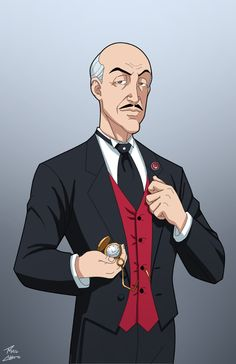 Alfred Pennyworth commission by phil-cho on @DeviantArt