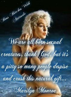we are all born sexual creatures