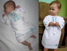Onesies, Embroidery, Children, Baby, Clothes, Fashion, Girls Dresses, Little Girl Clothing, Punto De Cruz