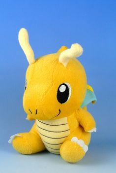 Dragonite Plush Pokemon / Pocket Monster by PureTutuSecretGarden, $9.99  I need this in my liiiiife~