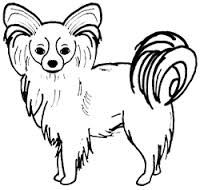papillon dog art - Buscar con Google