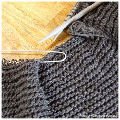 There is always a danger when you start a knitting project just before Summer that the hot weather will hit and the urge to create somethin...