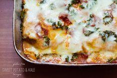 Gluten-Free Sweet Potato & Kale Lasagna   A gluten-free recipe from FrannyCakes