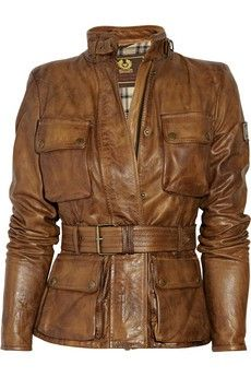 Triumph Leather Jacket - so sharp